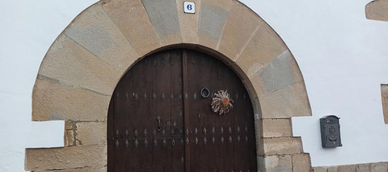 Girasol para las brujas en Salinas de Pamplona