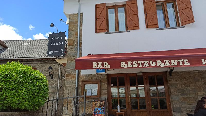 Hostal bar Casa Sario en Jaurrieta