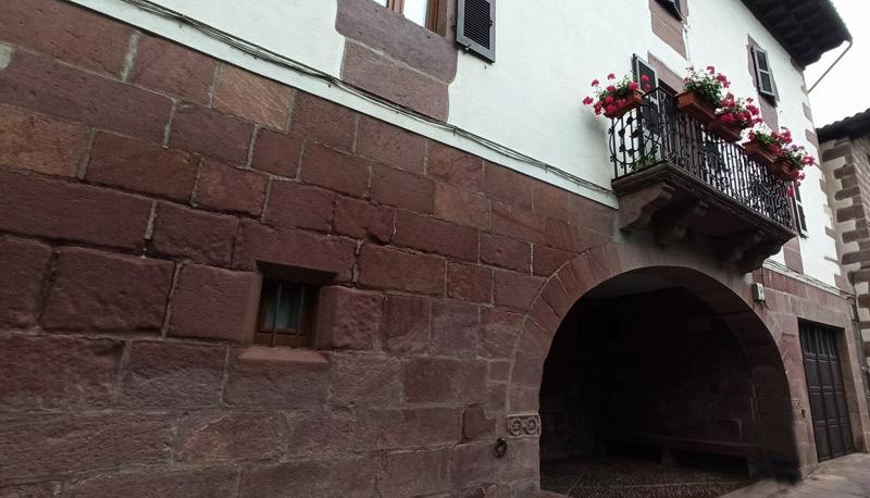 Casa de la Tía Engrasi en Elizondo
