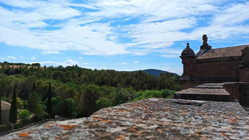 Entorno del Castillo de Javier en Navarra