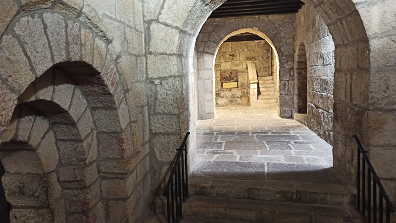 Cripta románica del Monasterio de Leyre