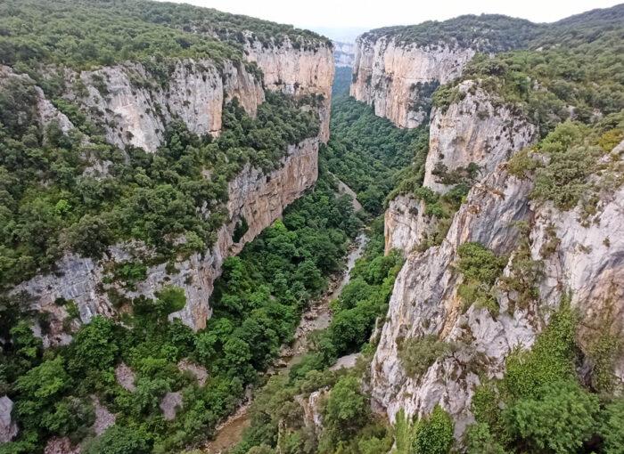 Visitar la Foz de Arbayún en Navarra