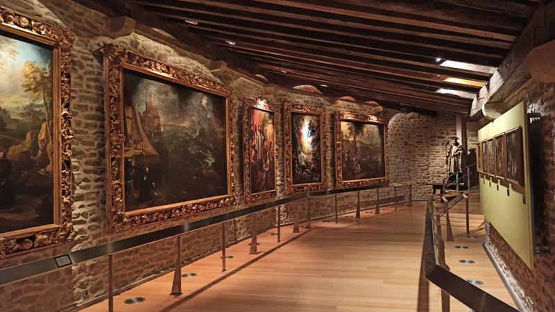 Galería de arte en el Castillo de Javier