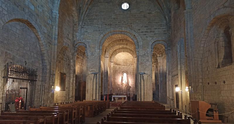 Iglesia del Monasterio de Leyre en Navarra