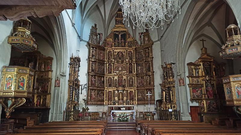 Iglesia de San Juan Evangelista en Ochagavía