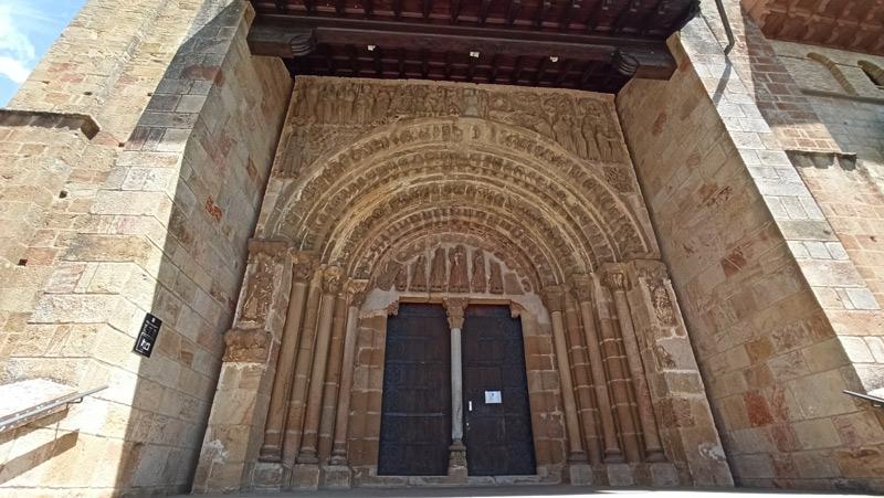 Porta Speciosa en el Monasterio de Leyre