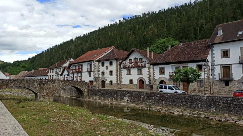 Puente medieval de Ochagavía