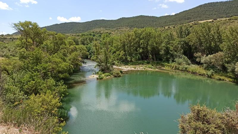 Río Irati en la Foz de Lumbier
