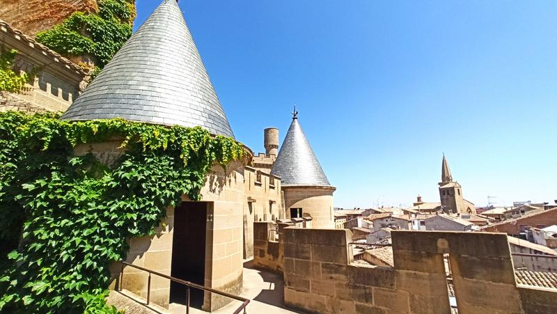 Visitar el Palacio Real de Olite, el Castillo.