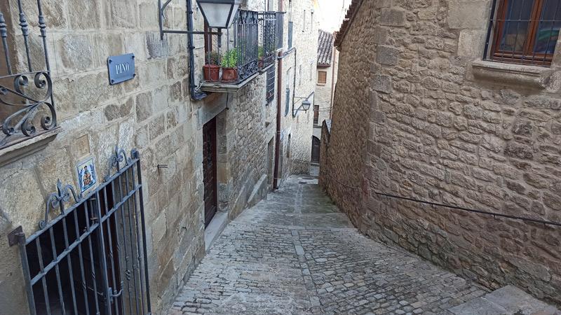 Calle Pino en Sos del Rey Católico