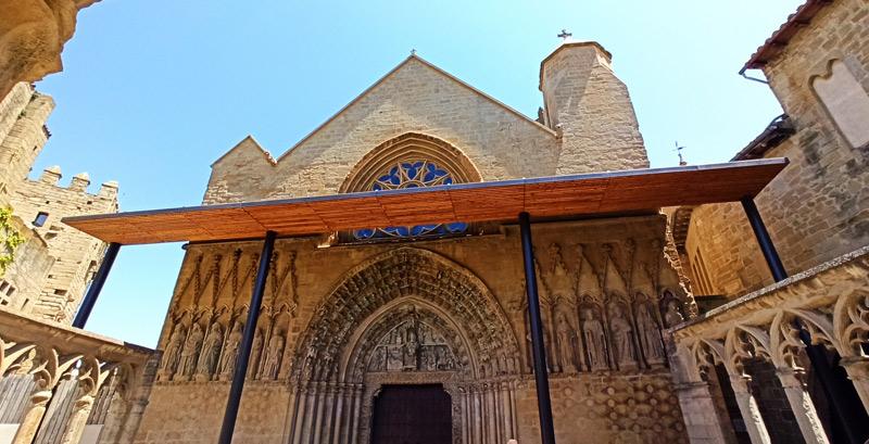 Iglesia de Santa María en Olite