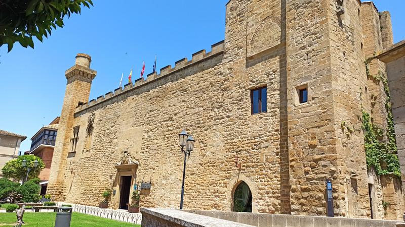 Palacio de los Teolbaldos en Olite