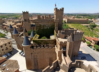 Visitar el Castillo de Olite en Navarra